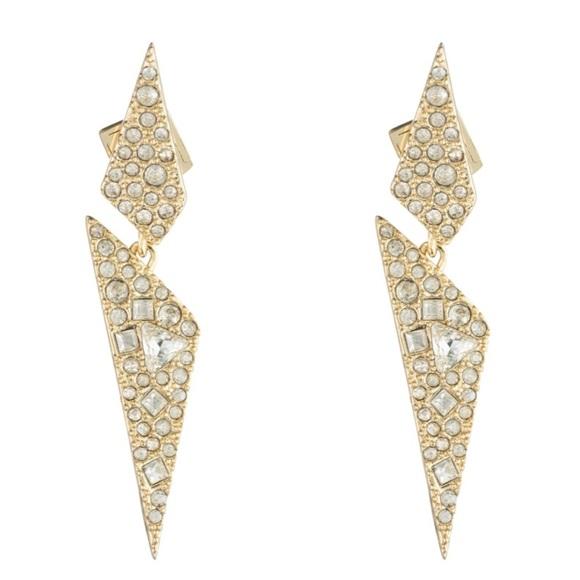 311426699 Alexis Bittar Jewelry - Alexis Bittar Crystal Origami earrings ✨✨✨
